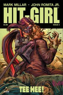 hit girl issue 5 cover