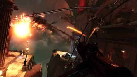 Bioshock Infinite Skyline Fight