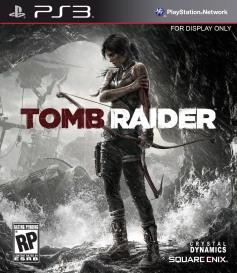 Tomb Raider 2013 box art