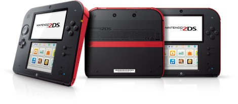 Nintendo 2DS - red